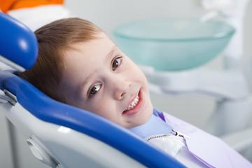 happy child at dentist | Chagrin Family Dental Care in Chagrin Falls, OH