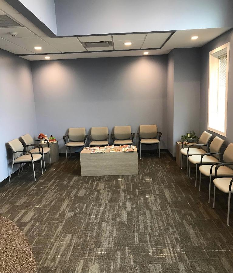 The Waiting Area at Chagrin Family Dental Care in Chagrin Falls, OH
