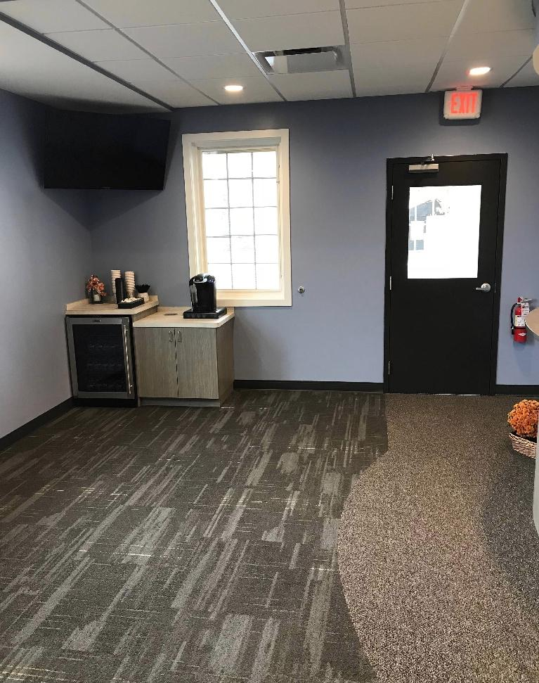 The Reception Area at Chagrin Family Dental Care in Chagrin Falls, OH