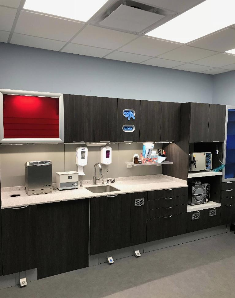 The Sterilization Area at Chagrin Family Dental Care in Chagrin Falls, OH